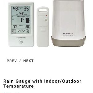 Acurite Rain Gauge Station Bundle